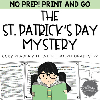 St. Patrick's Day Mystery: A CCSS Reader's Theater for Grades 4-8