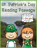 St. Patrick's Day Nonfiction Close Reading Passage