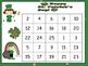 St. Patrick's Day Numbers 1-25 Bingo Game-  Kindergarten
