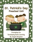 St. Patrick's Day - Preschool Unit