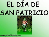St. Patrick's Day (San Patricio) Power Point in Spanish (4