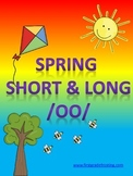 Spring Seatwork Long U Short & Long OO Compound Words Syll