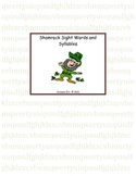St. Patrick's Day Sight Words and Syllables