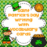St. Patrick's Day Writing and Vocabulary Cards