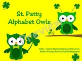 St. Patty Alphabet Owls