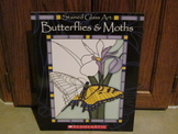Stained Glass Art - Butterflies and Moths on Vellum-Like Paper