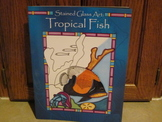 Stained Glass Art - Tropical Fish on Vellum-Like Paper