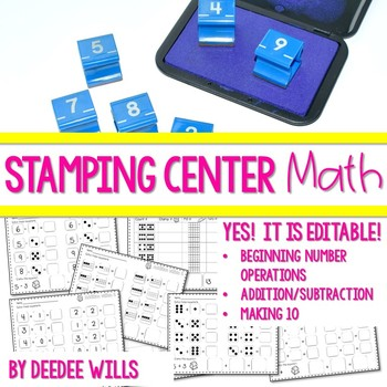 Stamping Math Fun-editable