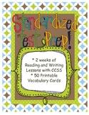 Standardized Test Unit of Study with Vocabulary Study/Task