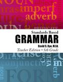 Standards Based Grammar: Grade 5