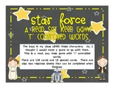 Star Force - Read, Say, Keep game with  'r' controlled words