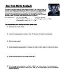 Star Trek 2009 Movie Analysis - Free Fall, Friction, Termi