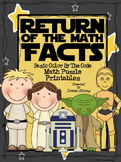 Star Wars~ Basic Color By The Code Math Puzzle Printables~