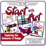Art Lessons - Start With Art - Introducing the Elements of Art