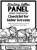 Starting Seller Panel Bonus Handouts - TpT Conference