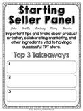 Starting Seller Panel Handout (TT15)