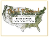 Create a State Banner - Short Research Project