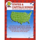 States and Capitals DVD from Audio Memory/Kathy Troxel
