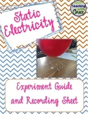 Static Electricity: A Hands-On Lab for Upper Grades