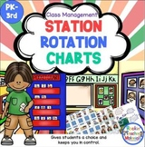 Station Rotation Charts - Help Your Kids Become Independen