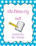 Stationary Set {Multi-Theme}