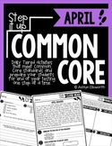 Step it Up Common Core {April Edition}