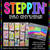 Steppin' into a new year {Back to School/End of Year Craftivity}