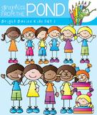 Stick Kids Bright Basics Mini Set - Clipart for Teaching