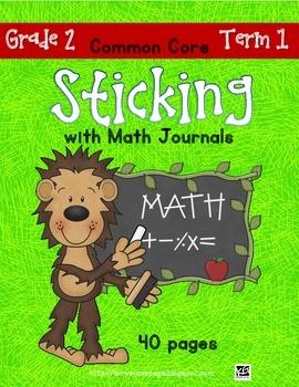 Sticking With Math Journals - Grade 2 - Term 1
