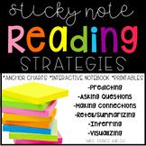 Sticky Note Reading Strategies