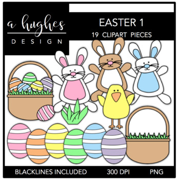 Stitched Easter {Graphics for Commercial Use}