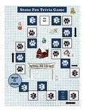 Stone Fox Printable Trivia Reading Comprehension Game