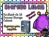 Storage Labels for Supplies