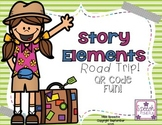 Story Elements Road Trip QR Code Fun