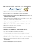 Story Elements Tic-Tac-Toe -110 Questions For Any Novel