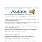Story Elements Tic-Tac-Toe -110 Questions For Any Novel