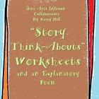 """""""Story Think-Abouts"""" Worksheets and An Explanatory Poem"""