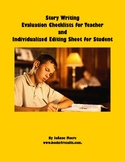 Story Writing Evaluation and Editing Checklists for Teache