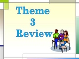 Storytown Theme 3 Power Point Vocabulary Review-  Third Grade