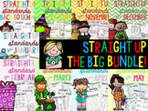 Straight Up! {Standards} YEAR ROUND BUNDLE