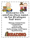 Strategies that do work reading question stems bookmarks!!