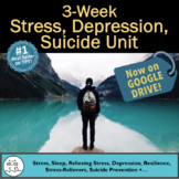 Stress Unit: 2.5 Weeks of Surveys, Worksheets, Projects, +