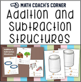 Structures of Addition and Subtraction Problems