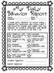 Student Behavior Accountability Report, Classroom Management