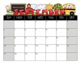 Student Calendar August 2015- July 2016