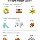 Student Interest Survey By Ms. Delveaux