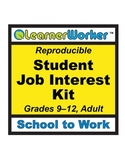Student Job Interest Kit