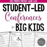 Student-Led Conference Bundle for Grades 4-8
