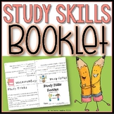 Study Skills Cloze Booklet