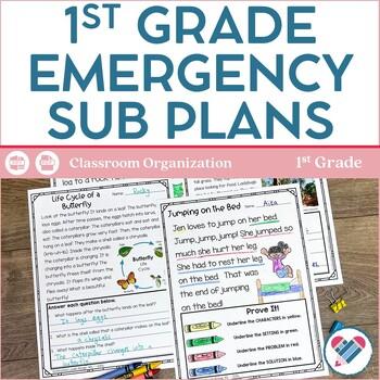 Sub Plans Grades 1-2